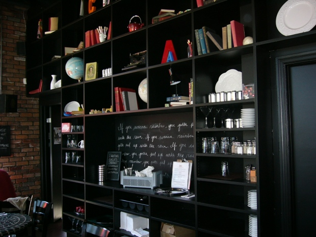 An inside room at School Bakery & Cafe