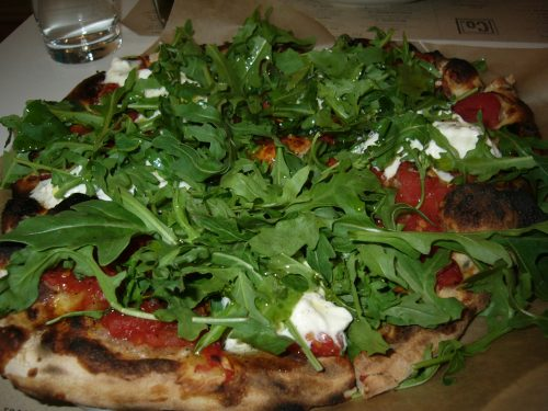 The Stracciatella Pizza at Company in New York