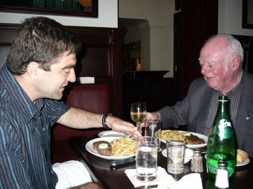Canlit lions Nino Ricci and Alistair MacLeod
