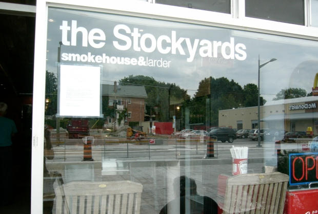 St. Clair West is under construction but the Stockyards is well worth the trip