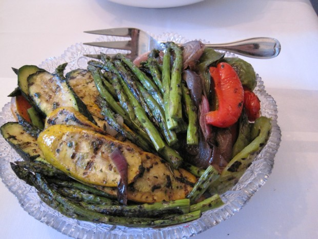 Jane's delicious grilled vegetables