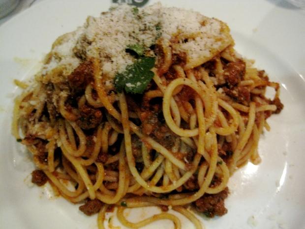 Spaghetti Bolognese from Da Corradi