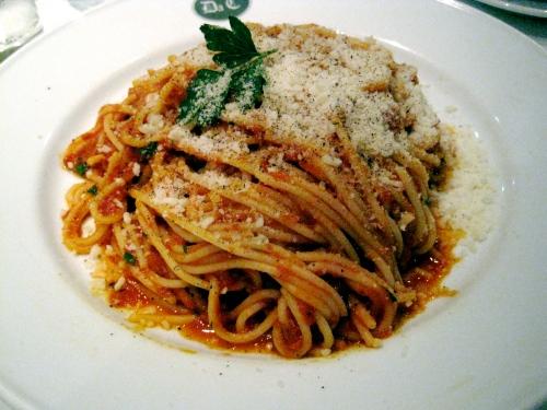 Pasta Margherita at Da Corrida