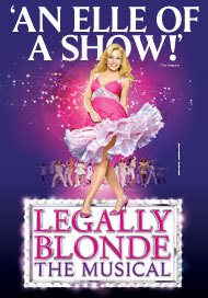 Image result for legally blonde musical poster