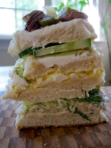 Cream Cheese Sandwich Loaf as per the Hungry Novelist