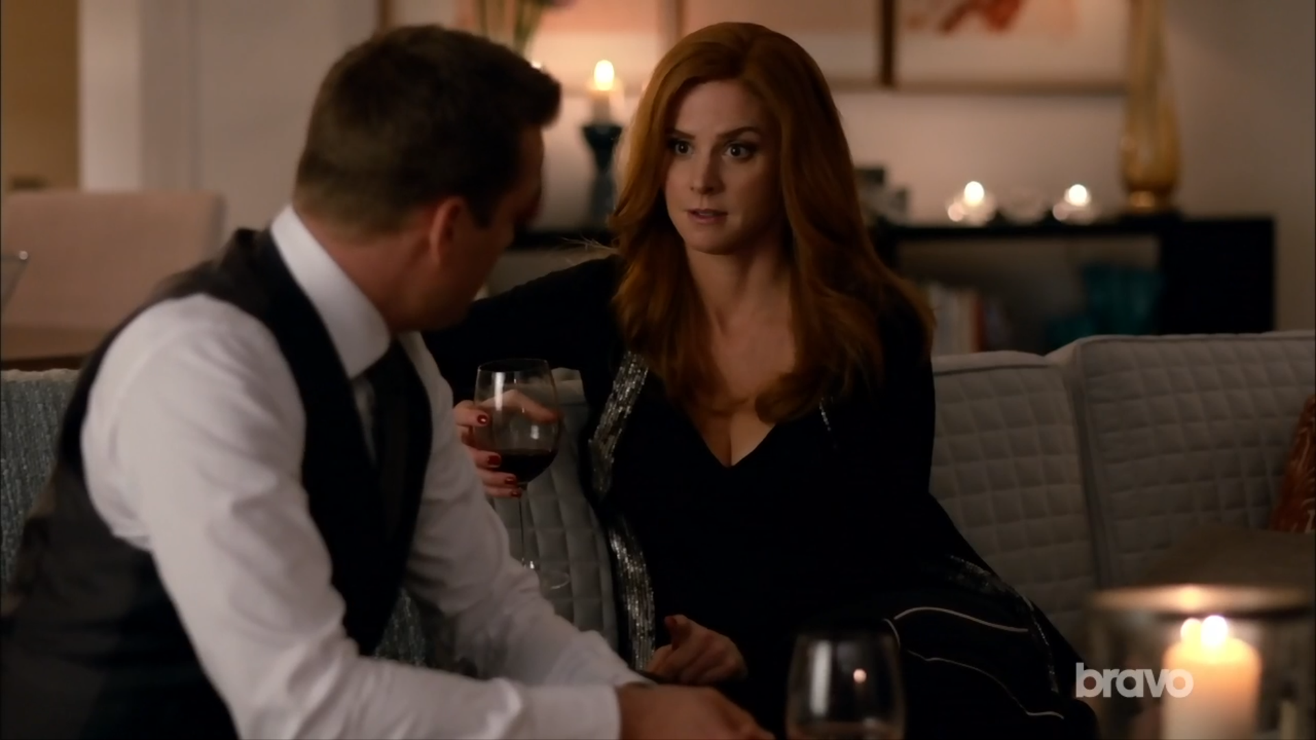 donna on suits