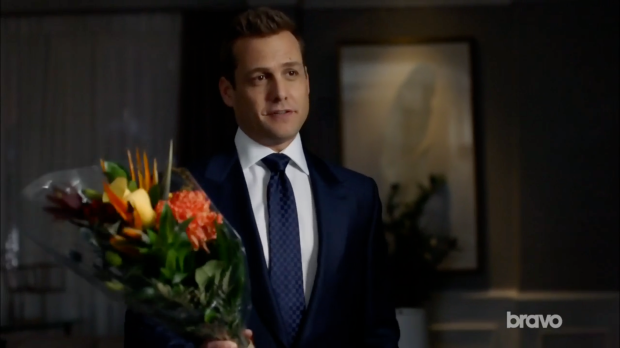 harvey with flowers