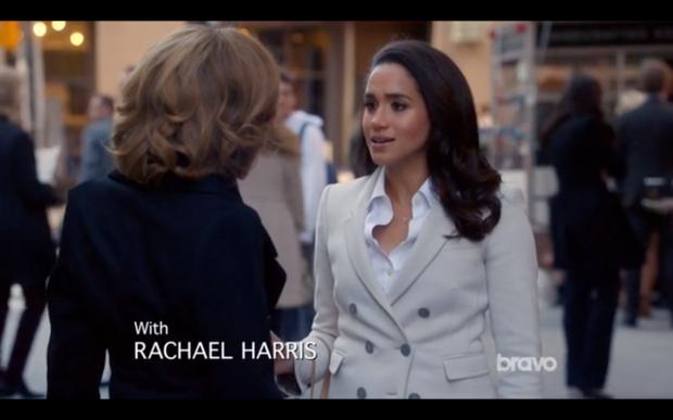 Nice coat on Rachel, nice blowout on Gibbs