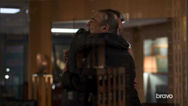 Louis & Harvey Hug